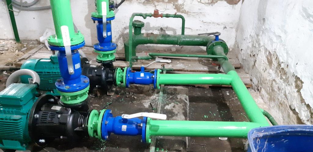 Замена насосного оборудования - Тюменская область, Исетский район
