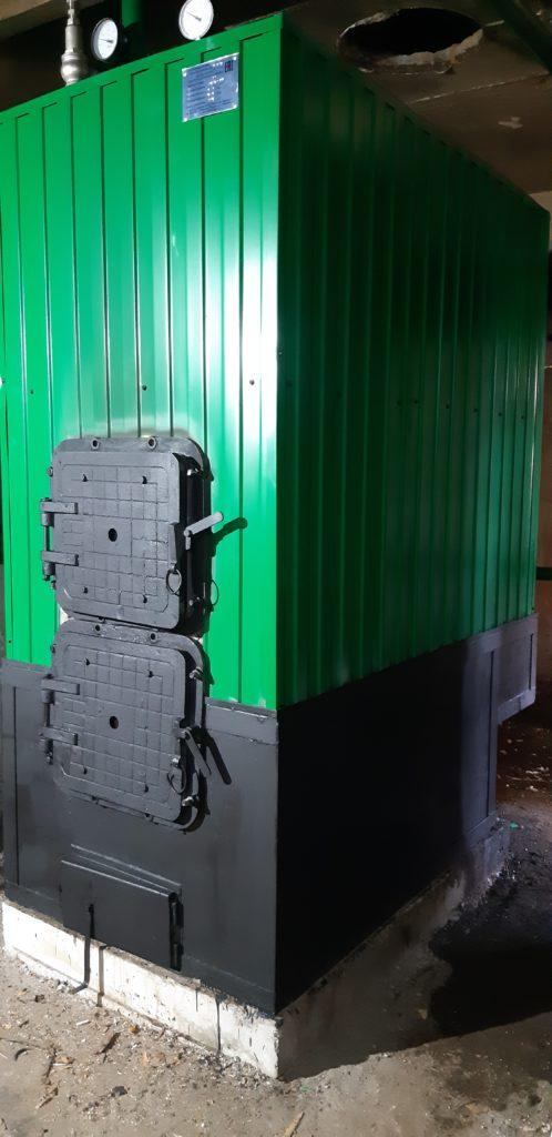 Капитальный ремонт котельного оборудования - Свердловская область, лагерь Алтай