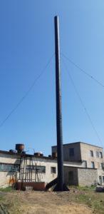Капитальный ремонт дымовой трубы