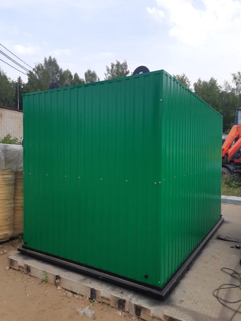 Готов к отгрузке котел на отходах деревообработки КВм 2,0 МВт